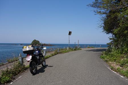 鳥取県・香美町香住区の海-1