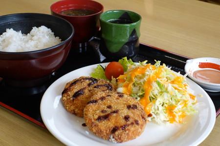 魚つみれカツ定食(道の駅・海山【三重】)