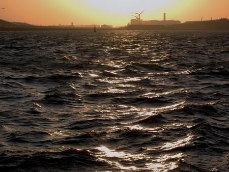 20130102-160527 若洲海浜公園にて
