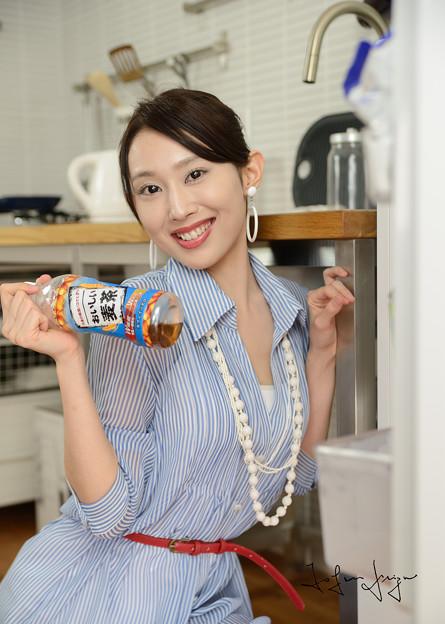 Photos: 加奈恵冷蔵庫笑顔2L