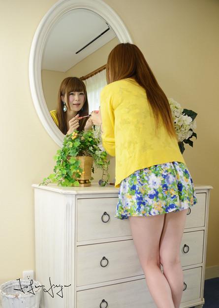 美樹鏡越しニーアップ2L