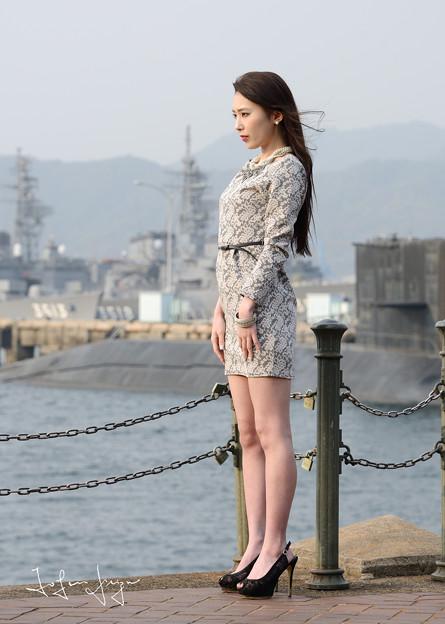 加奈恵桟橋中望遠2L