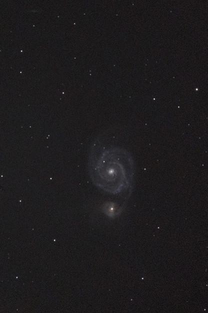 M51(子持ち銀河:りょうけん座)