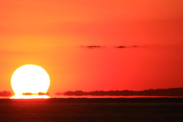 だるま夕陽(2)