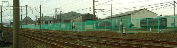 奥羽本線とJR東日本 秋田総合車両センター