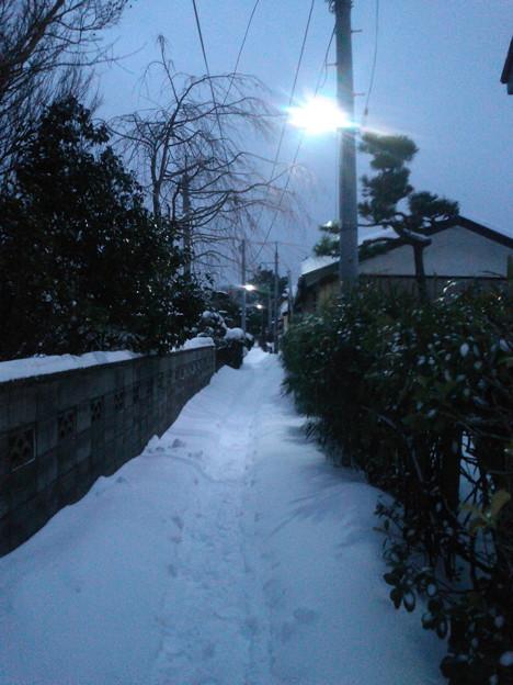 Photos: 小路再び