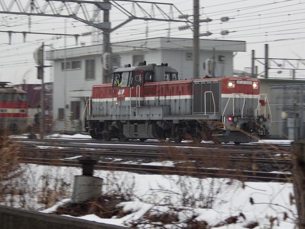 秋田貨物駅~DE10‐1595