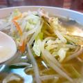 Photos: ゲキ辛タンメン・レベル1(辛うま) 麺顔アップ