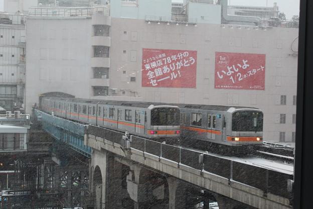 01-601Fと01-613F in渋谷駅 13/1/14