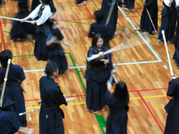 剣道の昇段審査