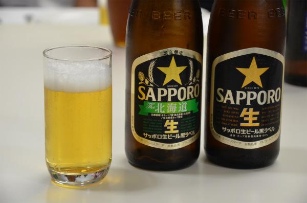 乾杯はもちろん北海道のビールで行います!