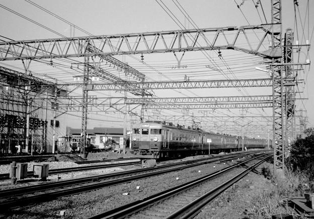 昭和49年8月赤羽駅構内 上り急行 9612M [軽井沢51号]?