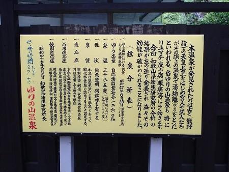 25 8 和歌山 ゆりの山温泉 2