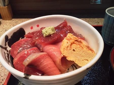 大崎 旨魚すずきの鮪と寒鰤の二種丼