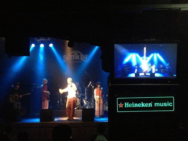 写真: Back Beat Brothers Live in Bottom Line Japan Nagoya