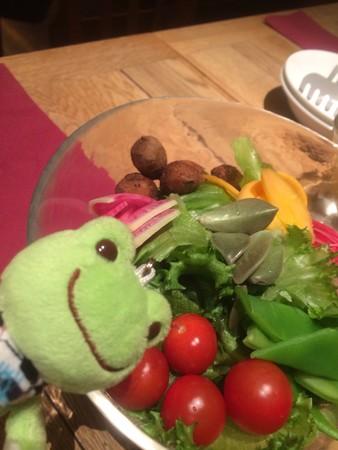 野菜食べるよ