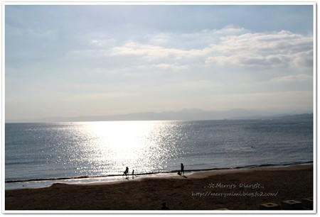 海だよ~♪