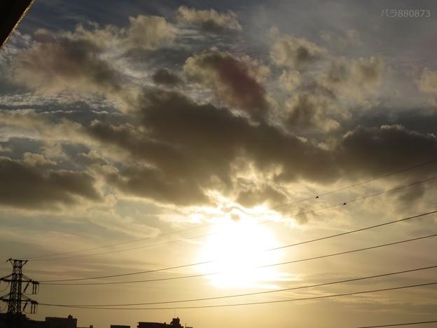 夕陽 夕方の空