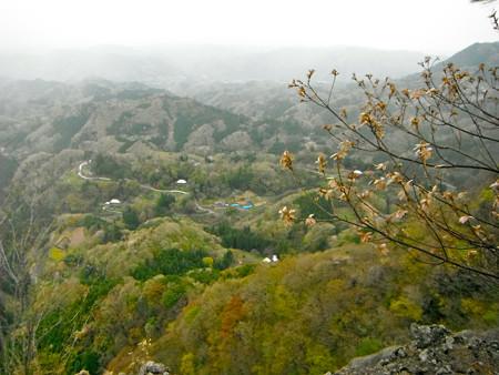 釜沢越え〜鷹取岩の途中の眺め