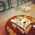 ケーキにお絵かき♪