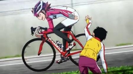 自転車の 自転車 姿勢 : ... 自転車を気にしていた。鳴子の