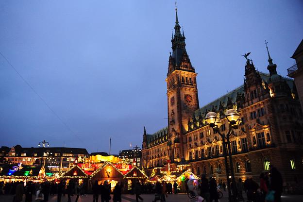 01.Hamburg Christmas market