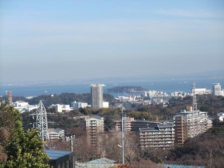 十三峠からの眺望