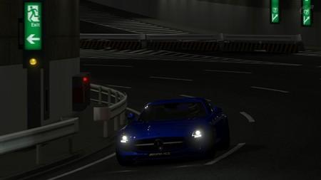 SLS AMG スペシャルステージ・ルート5逆走 タイムトライアル