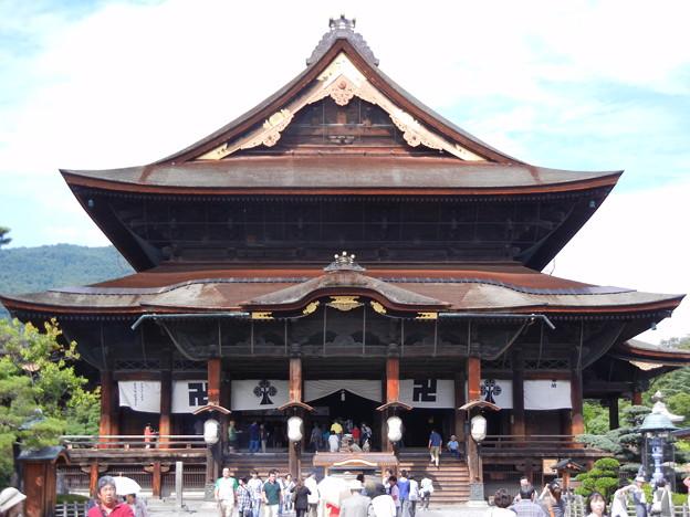 善光寺の本堂 (長野県長野市元善町) - 写真共有サイト「フォト蔵」