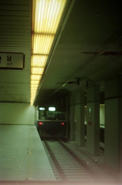 KNR 果川線・地下駅 - 写真共有サイト「フォト蔵」